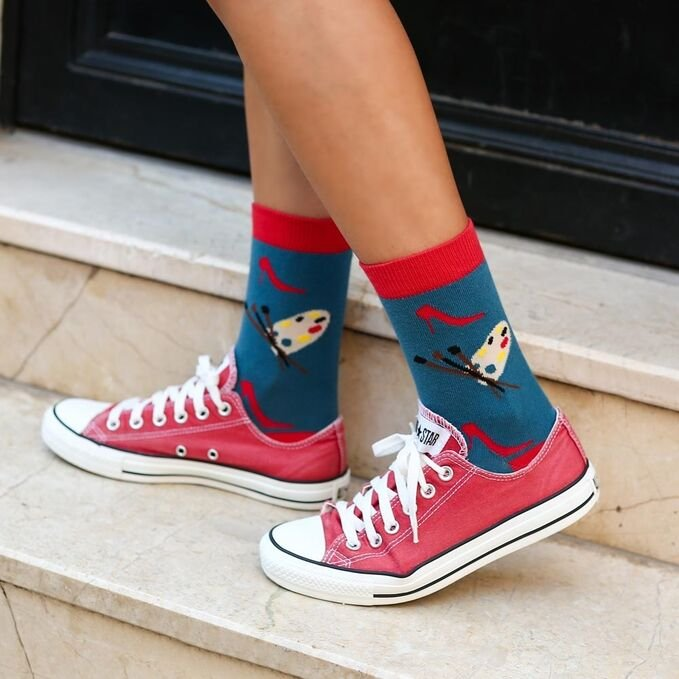 ColorCool - Colorcool Colored Women's Socks Palette (1)