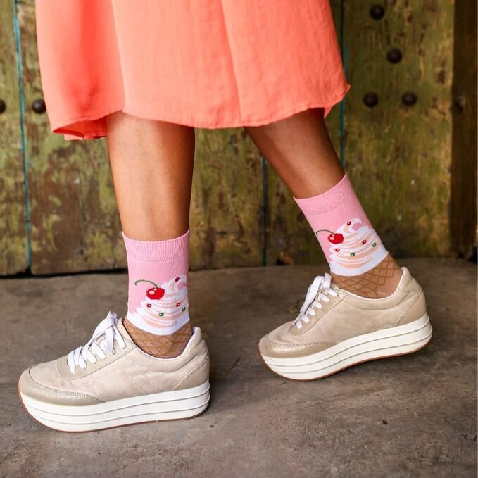 ColorCool - Colorcool Women's Colorful Ice Cream Socks (1)