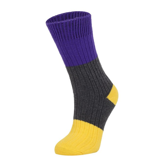 ColorCool - Colorcool Women's Winter Ribbed Socks Multi Color (1)